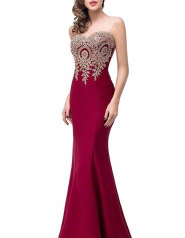 Mermaid Evening Dress Women Formal Long Prom Dress