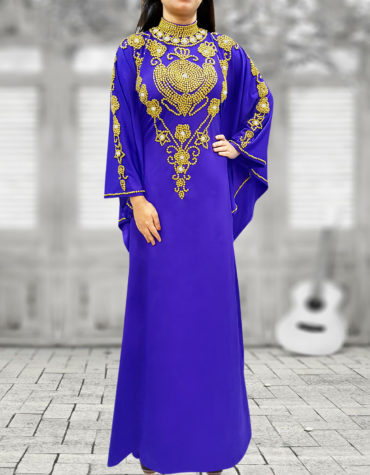 African Boutique Hand Beaded Spandex Party kaftan abaya maxi dresses for women