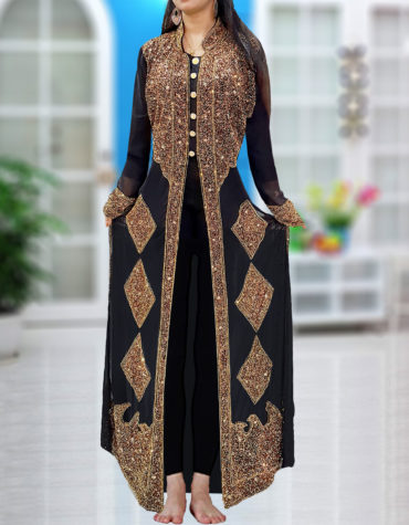 Chiffon Wedding Beaded Evening Gown African Party Sparkly Women Kaftan Dresses