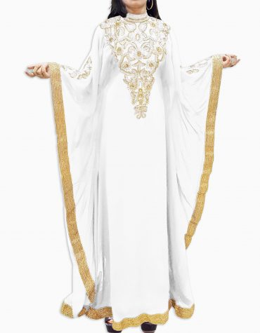 New Kaftan Dresses Brilliant Long Sleeve Formal Maxi Gown Evening Dubai For Women